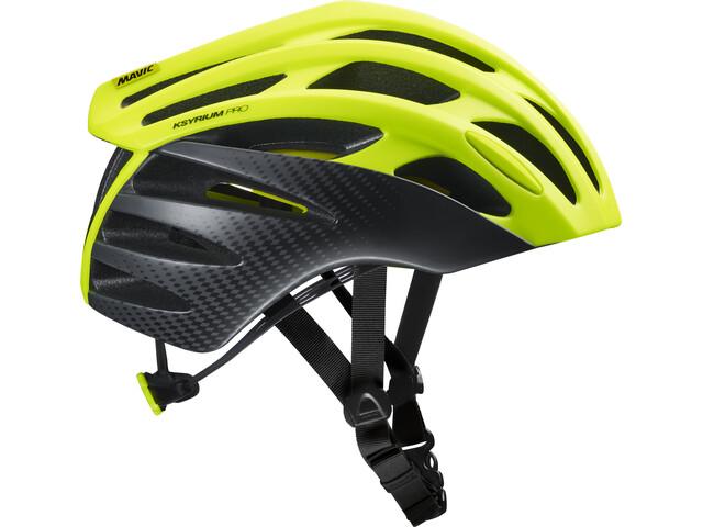 Mavic Ksyrium Pro MIPS Fietshelm Heren, safety yellow/black